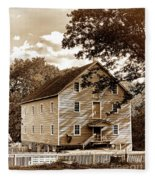 The Old Gristmill  Fleece Blanket