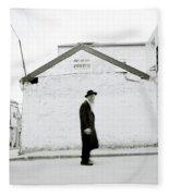 The Old Man Of Mea Shearim Fleece Blanket