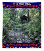 The Old Mill 2 Fleece Blanket
