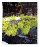 The Old Mossy Flume Fleece Blanket