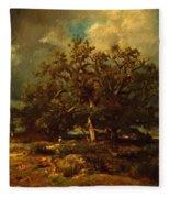 The Old Oak 1870 Fleece Blanket