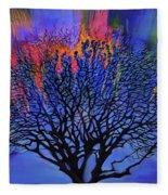 The Old Oak Tree Fleece Blanket