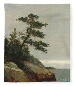 The Old Pine, Darien, Connecticut, 1872  Fleece Blanket
