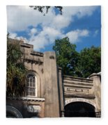 The Old Slave Market Museum In Charleston Fleece Blanket