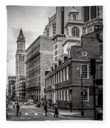 The Old State House Fleece Blanket