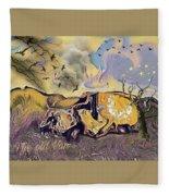 The Old Van Fleece Blanket