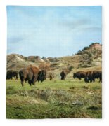 The Old West Fleece Blanket