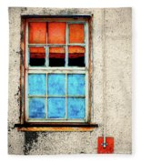 The Old Window Fleece Blanket