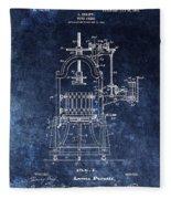 The Old Wine Press Fleece Blanket
