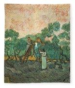 The Olive Pickers Fleece Blanket