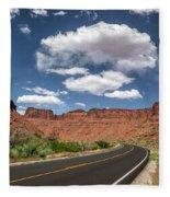The Open Road - Utah Fleece Blanket