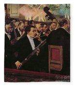 The Opera Orchestra Fleece Blanket