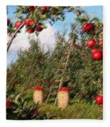 The Orchard Fleece Blanket