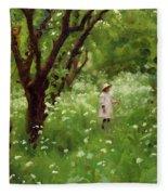 The Orchard  Fleece Blanket