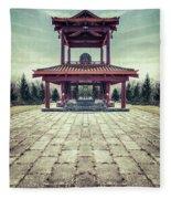 The Oriental Touch Fleece Blanket