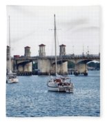 The Original Bridge Of Lions Fleece Blanket