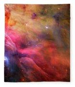 The Orion Nebula Close Up I Fleece Blanket