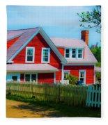 The Other Red House Monhegan Fleece Blanket