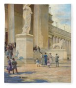 The Palace Of Fine Arts  Fleece Blanket