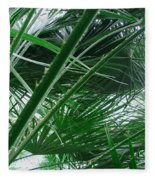 The Palm House Kew England Fleece Blanket