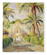 The Palm Trees Fleece Blanket