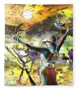 The Parable Of The Sower Fleece Blanket