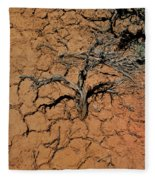 The Parched Earth Fleece Blanket