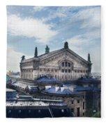 The Paris Opera 3 Art Fleece Blanket