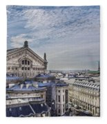 The Paris Opera 5 Art Fleece Blanket