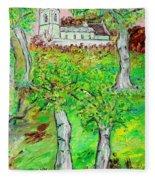 The Parish Curch Fleece Blanket