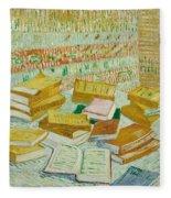 The Parisian Novels Or The Yellow Books Fleece Blanket