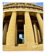 The Parthenon In Nashville Tennessee 3 Fleece Blanket