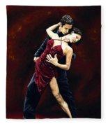 The Passion Of Tango Fleece Blanket