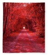 The Path 2 Fleece Blanket