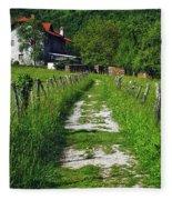 The Path Home Fleece Blanket