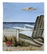 The Pelican Fleece Blanket