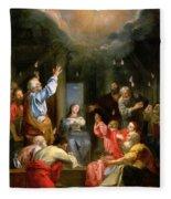 The Pentecost Fleece Blanket