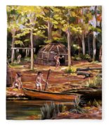 The Pequots Fleece Blanket
