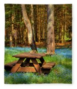 The Perfect Picnic Spot Fleece Blanket