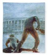 The Phillies At Veterans Stadium Fleece Blanket