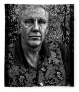 The Photographer Fleece Blanket