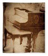 The Piano... Fleece Blanket