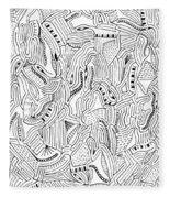 The Piano Fleece Blanket