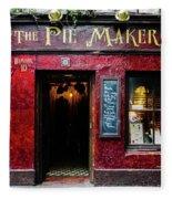 The Pie Maker Fleece Blanket
