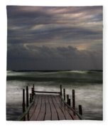 The Pier...ayia Napa Fleece Blanket