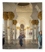 The Pillars Fleece Blanket