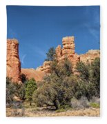 The Pillars Fleece Blanket