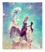 The Pillars Of Creation  Fleece Blanket