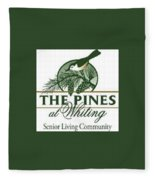The Pines At Whiting Fleece Blanket