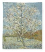 The Pink Peach Tree Arles, April - May 1888 Vincent Van Gogh 1853  1890 Fleece Blanket